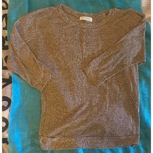 Women's 3/4 sleeve Light layering Sweater Top